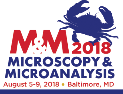 2018, August 5-9: Microscopy & Microanalysis Meeting in Baltimore