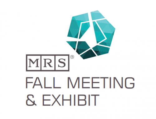 2019, December 1-6: MRS Fall Meeting in Boston